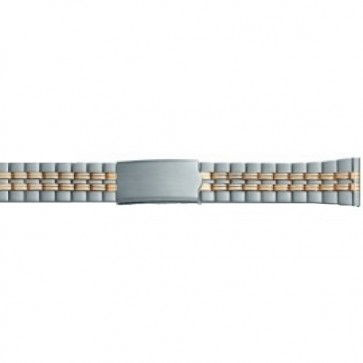Chroom Klockarmband ksom passar en klocka med måtten 10 t/m 14mm PVK-EC611
