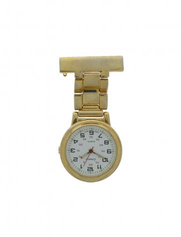 E968 nurseklocka för unisex Stål Guld (Doublé)