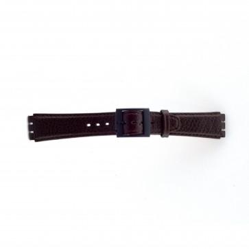 Rem passande Swatch brunt 17mm PVK-SC04.02