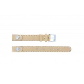 Lacoste klockarmband 2000385 / LC-05-3-14-0009 / BE Läder Beige 12mm + default sömmar