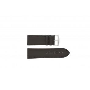 Klockarmband 306.02 Läder Brun 28mm + default sömmar