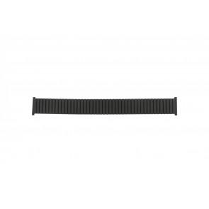 Klockarmband 382960 Metall Svart 22mm