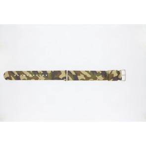 Klockarmband 410.C3.22 Textil Polykromi 22mm