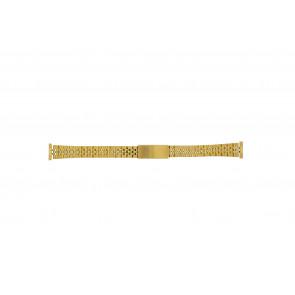 Klockarmband 42539-1-14 Metall Guldpläterad 14mm