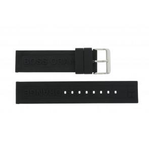 Hugo Boss klockarmband 659302252 / HB.116.1.29.2267 / 1512543 Gummi Svart 22mm