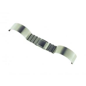 Klockarmband Spange 16ST Metall Ilverfärgad 16mm