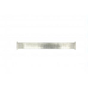 Klockarmband EC113 Metall Ilverfärgad 18mm