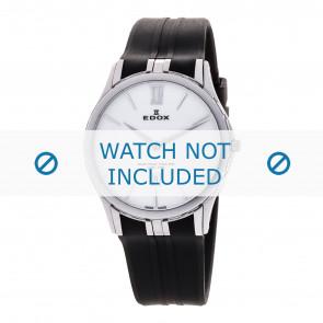 Edox klockarmband 27033-3-BIN Silikon Svart