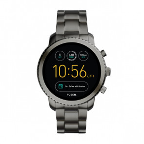 Fossil FTW4001 Q Explorist horloge Digital Män Digital Smartwatch