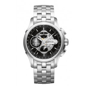 Klockarmband Hamilton H001.32.696.139.01 / H605376100 Stål Stål 22mm