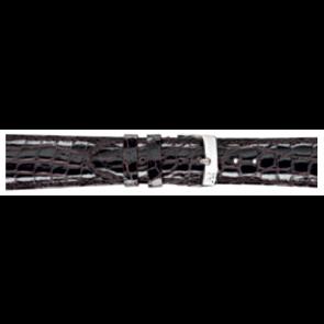 Morellato klockarmband Amadeus XL G.Croc Gl K0518052032CR22 / PMK032AMADEU22 Krokodilskinn Mörk brun 22mm + default sömmar