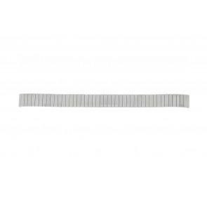 Lasita klockarmband Fixoflex LA-12 Metall Ilverfärgad 12mm