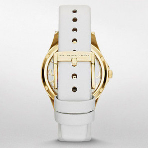 Marc by Marc Jacobs klockarmband MBM1339 Läder Vit 16mm