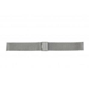 Other brand klockarmband MESH22 Metall Ilverfärgad 22mm