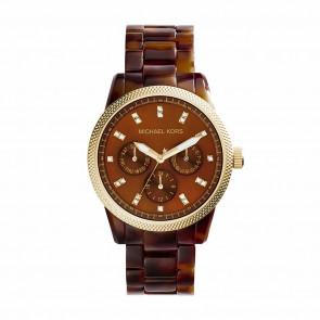 Klockarmband Michael Kors MK5038 Plast Brun
