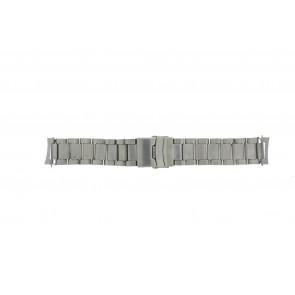 Klockarmband QQ22RHZIL Metall Ilverfärgad 22mm