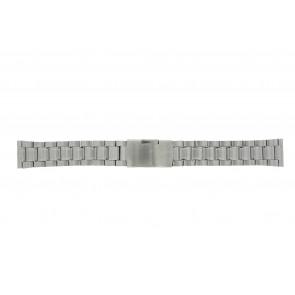 Other brand klockarmband ST22Z Metall Ilverfärgad 22mm
