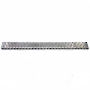 Klockarmband V54I Metall Ilverfärgad 24mm