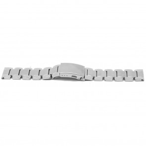 Klockarmband YJ35 Metall Ilverfärgad 26mm