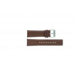 Fossil klockarmband AM-3891 Läder Brun 25mm