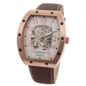 Vendoux automatisk klocka rosa LR 12912-02