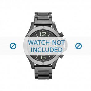 Armani klockarmband AX-1507 Stål Grå 22mm