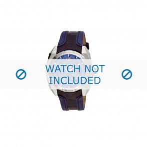 Breil klockarmband BW0322 Läder Blå + sömmar blå