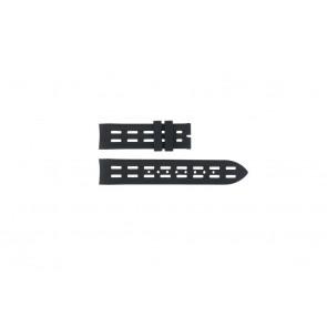 Breil klockarmband BW0400 / F260053257 / F260053260 Gummi Svart 22mm