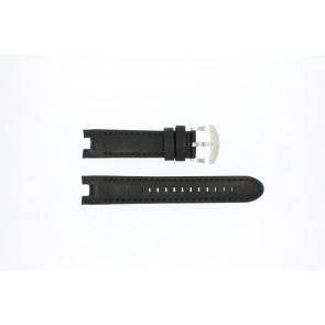 Buddha to Buddha klockarmband 46mm / BTB.M.D.3H.02 Läder Svart 21mm + sömmar svart