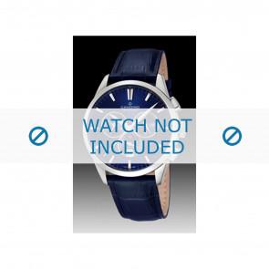 Candino klockarmband C4517-3 Läder Blå + sömmar blå