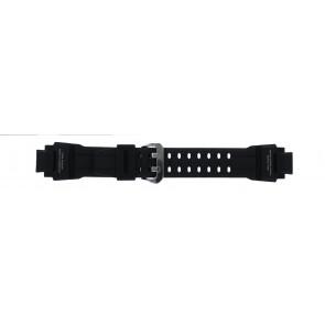 Casio klockarmband GA-1000-1AV Silikon Svart 22mm