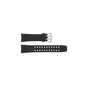 Casio klockarmband G-7400-1V Gummi Svart 16mm