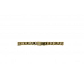 Morellato klockarmband D0152025 Stål Guld (Doublé) 14mm