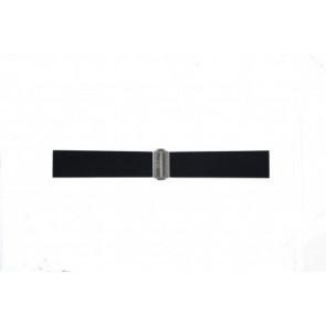 Davis klockarmband BB0881 Gummi Svart 22mm