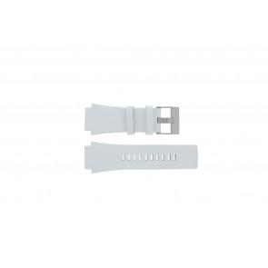 Diesel klockarmband DZ1449 Läder Vit 25mm