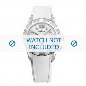 Edox klockarmband 62005 Silikon Vit