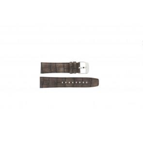 Festina klockarmband F16573/4 Läder Brun 23mm + sömmar brun