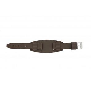 Fossil klockarmband JR1395 Läder Brun 20mm