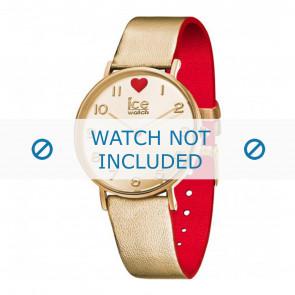 Ice Watch klockarmband 013376 Läder Guld 18mm
