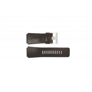 Fossil klockarmband JR-9121 Läder Mörk brun 26mm