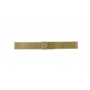 Other brand klockarmband MESH24DBL Metall Guld 24mm