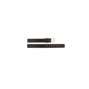 Skagen klockarmband 358XSGLD Läder Brun 12mm