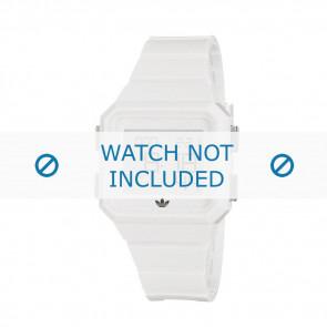 Adidas klockarmband ADH4056 Gummi Vitt 20mm