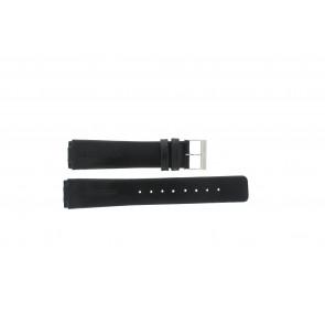 Skagen klockarmband 433LSLC Läder Svart 20mm + default sömmar