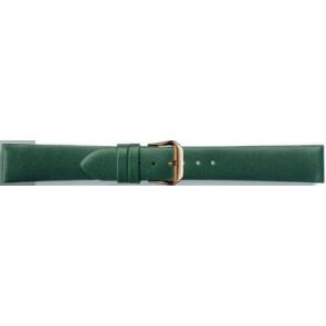 Läderrem i äkta läder grön 14mm PVK-241
