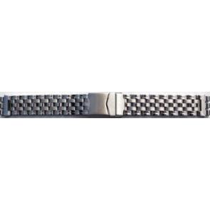 Klockarmband Stål passande Swatch 17mm D1039