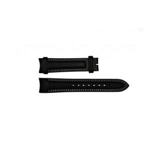 Breil klockarmband TW0678 Läder Svart 22mm