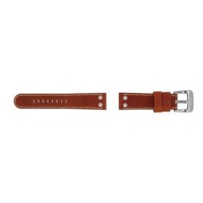 TW Steel klockarmband TW24 Läder Brun 22mm