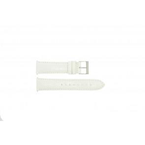 Guess klockarmband W85053G2 / W10558L1 Läder Vitt 22mm