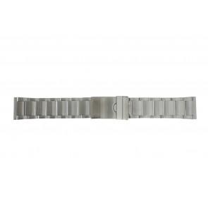 Klockarmband Y120-K63 Metall Ilverfärgad 24mm